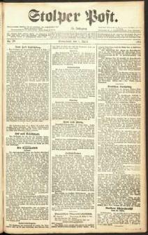 Stolper Post Nr. 78/1911