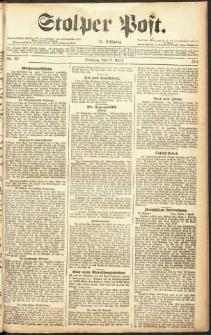 Stolper Post Nr. 85/1911