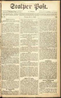 Stolper Post Nr. 90/1911