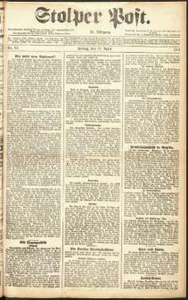 Stolper Post Nr. 93/1911