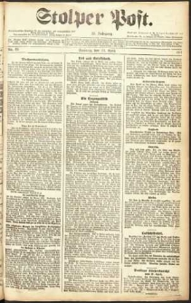 Stolper Post Nr. 95/1911