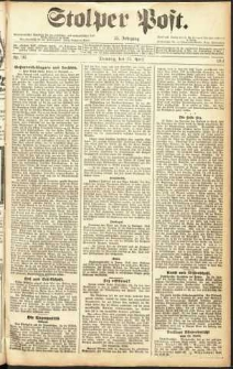 Stolper Post Nr. 96/1911