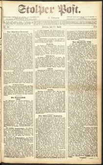 Stolper Post Nr. 99/1911