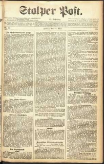 Stolper Post Nr. 111/1911