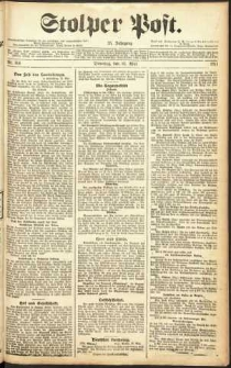 Stolper Post Nr. 114/1911