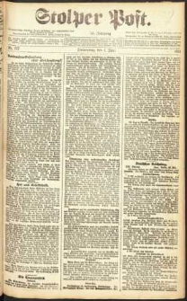 Stolper Post Nr. 127/1911
