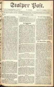 Stolper Post Nr. 137/1911