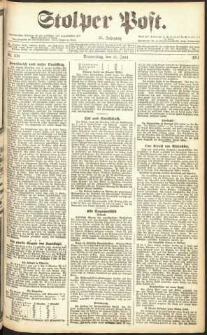 Stolper Post Nr. 138/1911