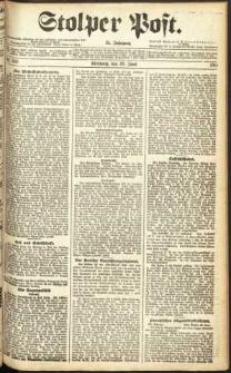 Stolper Post Nr. 149/1911