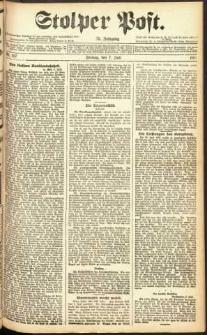 Stolper Post Nr. 157/1911