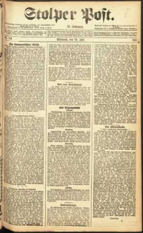 Stolper Post Nr. 161/1911