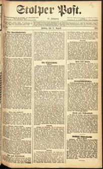 Stolper Post Nr. 187/1911
