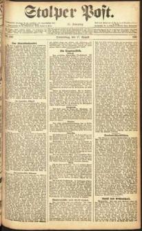 Stolper Post Nr. 192/1911