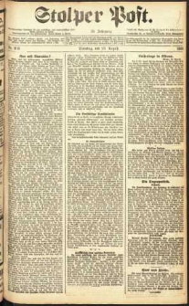 Stolper Post Nr. 202/1911