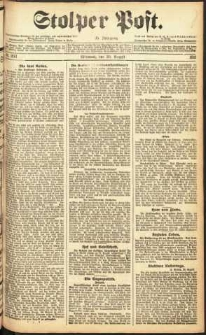 Stolper Post Nr. 203/1911