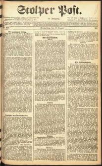Stolper Post Nr. 204/1911