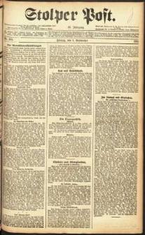 Stolper Post Nr. 205/1911