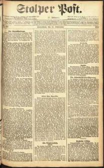 Stolper Post Nr. 218/1911