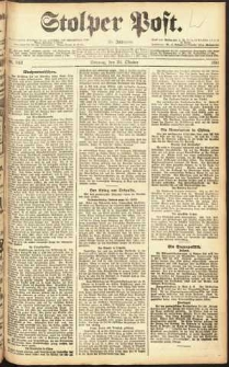 Stolper Post Nr. 249/1911