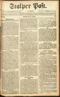 Stolper Post Nr. 255/1911