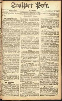 Stolper Post Nr. 265/1911
