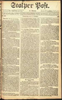 Stolper Post Nr. 270/1911