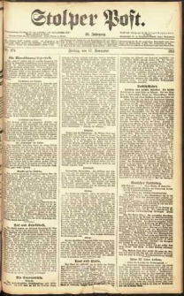 Stolper Post Nr. 271/1911