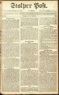 Stolper Post Nr. 273/1911