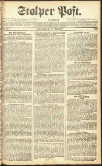 Stolper Post Nr. 277/1911