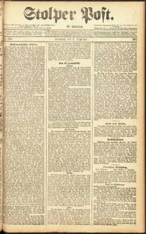 Stolper Post Nr. 186/1911