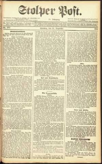 Stolper Post Nr. 290/1911