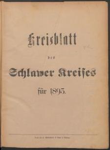 Kreisblatt des Schlawer Kreises 1893