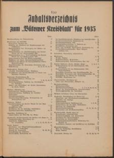 Kreisblatt des Kreises Bütow 1935
