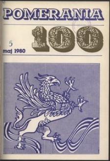 Pomerania : miesięcznik społeczno-kulturalny, 1980, nr 5