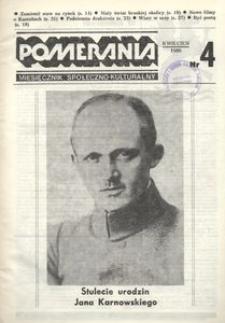 Pomerania : miesięcznik społeczno-kulturalny, 1986, nr 4