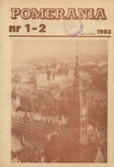 Pomerania : miesięcznik społeczno-kulturalny, 1983, nr 1-2