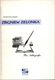 Zbigniew Zielonka : bio-bibliografia
