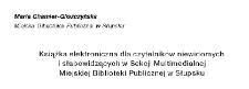 Książka elektroniczna dla czytelników niewidomych i słabowidzących w Sekcji Multimedialnej Miejskiej Biblioteki Publicznej w Słupsku