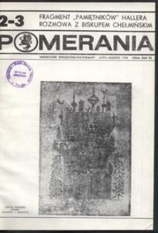 Pomerania : miesięcznik społeczno-kulturalny, 1990, nr 2-3