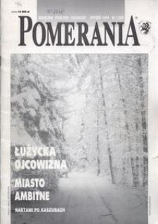 Pomerania : miesięcznik społeczno-kulturalny, 1994, nr 1