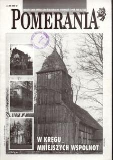 Pomerania : miesięcznik społeczno-kulturalny, 1994, nr 4