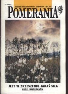 Pomerania : miesięcznik społeczno-kulturalny, 1994, nr 11