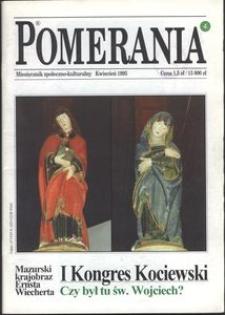 Pomerania : miesięcznik społeczno-kulturalny, 1995, nr 4