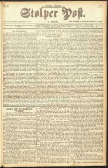 Stolper Post Nr. 26/1897
