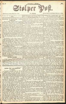 Stolper Post Nr. 29/1897