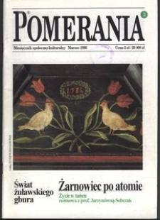 Pomerania : miesięcznik społeczno-kulturalny, 1996, nr 3