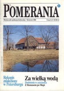 Pomerania : miesięcznik społeczno-kulturalny, 1996, nr 4