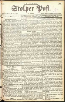 Stolper Post Nr. 61/1897