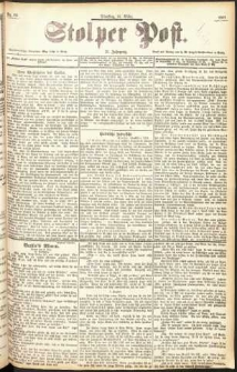 Stolper Post Nr. 63/1897