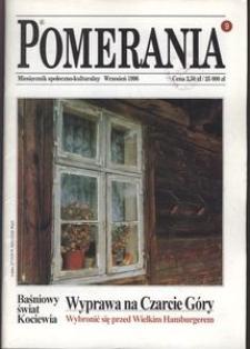 Pomerania : miesięcznik społeczno-kulturalny, 1996, nr 9